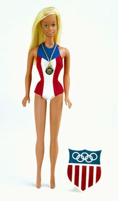 Barbie takes the gold!!!