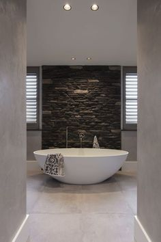 60 Bathrooms Black and White Decorated - Beautiful Pictures - Home Fashion Trend Bathroom Goals, Bathroom Spa, White Bathroom, Modern Bathroom, Master Bathroom, Bad Inspiration, Bathroom Inspiration, Bathroom Design Luxury, Home Interior Design