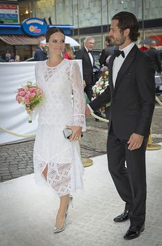 King Carl Gustaf and Queen Silvia of Sweden, Crown Princess Victoria and Prince Daniel of Sweden, Prince Carl Philip and Princess Sofia of Sweden attend Polar Music Prize 2016 at Stockholm Concert Hall on June 16, 2016 in Stockholm, Sweden.