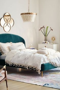 fash Slide View: Tasseled Linen Duvet Cover Master bedroom Various Types Of Countertops And Vanit Master Bedroom Duvet, Bedroom Sets, Teal Bedroom, Home Decor Bedroom, Home Bedroom, Duvet Cover Master Bedroom, Bedding Master Bedroom, Teal Bedroom Decor, Bedroom Duvet