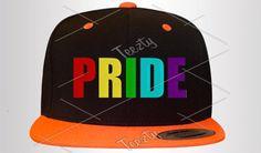Pride Snapbacks Snapback Pride Rainbow snapbacks by Teezty on Etsy