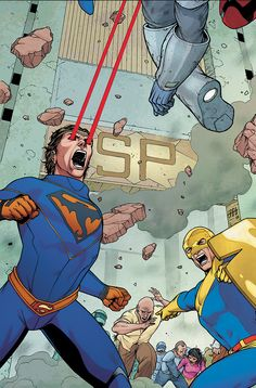 Action Comics #885 cover by CAFU