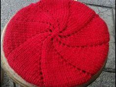 Stitch Patterns, Crochet Videos, Kids Wear, Tatting, Beanie, Crafts, Slouchy Beanie, Crochet Lace Edging, Crochet Hat Patterns