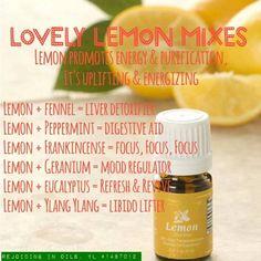 Lovely lemon blends