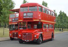 London Routemaster Bus 60th Finsbury Park Norton Motorcycle, Finsbury Park, Routemaster, Swinging London, Double Decker Bus, Bus Coach, Red Bus, London Bus, London Transport