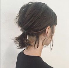 HAIR (Hair) is a hairdressing model that stylists . HAIR (Hair) is a Messy Hairstyles, Pretty Hairstyles, Medium Hair Styles, Curly Hair Styles, Hair Medium, Hair Arrange, Great Hair, Hair Looks, Hair Lengths