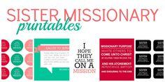Sister Missionary #freeprintables