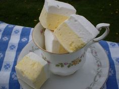 Lemonade Marshmallows - 18 Pieces by Blue Ribbon Confections on Gourmly