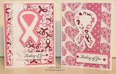 Crafty Girl 21!: MCCR Breast Cancer Cards