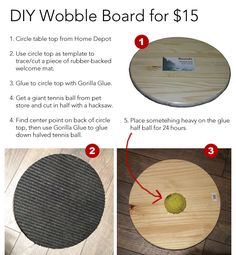 DIY Wobble Board for less than $15!
