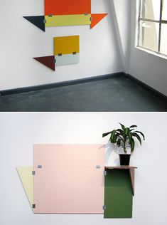 Fold out tables!