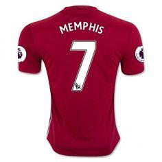16-17 Manchester United Football Shirt Home MEMPHIS #7 Cheap Replica Jersey [G212]