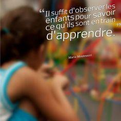 """""""Les étapes de l'éducation"""" de Maria Montessori, retranscription d'une de ses conférences, est une bonne introduction à l'esprit de la pédagogie Montessori."""