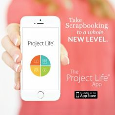 Using digital journaling cards already in your stash with the Project Life app