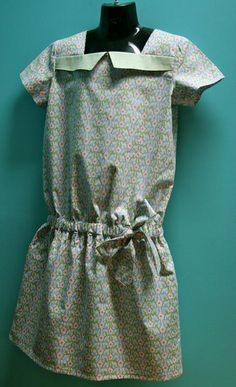 Croquet Dress by O+S  Full tutorial