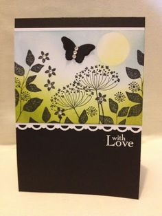 Stampin' Up! UK Demonstrator Laura Mackie: Summer Silhouette