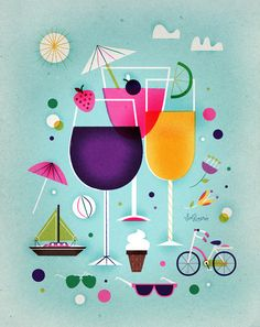 Looks like summertime!!  (for Descorches Mag by Sol Linero, via Flickr)