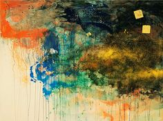 Minerals and Resins: Makoto Fujimura + Nihonga mixing