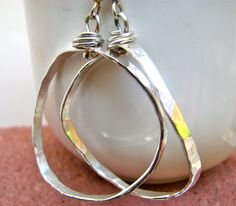 Hoop Earrings Trendy Earrings Hoops Organic by justbujewelry