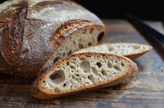 Spelt sourdough with potatoes Bread And Pastries, Russian Recipes, How To Make Bread, Bread Making, Sourdough Bread, Bread Recipes, Ham, Delish, Bakery