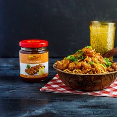 """""""Made from quality Chinese plums, ginger, and chili, it would be an insult to noodles to not use Lee Kum Kee USA Plum Sauce for your Saturday night stir-fry😋🙌🌶️. Did you use it as a sauce or for dipping? Sandwich Recipes, Lunch Recipes, Dinner Recipes, Plum Sauce, Asian Recipes, Ethnic Recipes, Saturday Night, Sauce Recipes, Stir Fry"""
