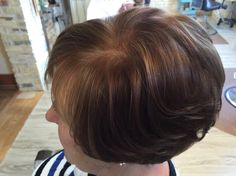 Fall color for medium brunettes #bellaamicitc #hairbycassierizzi