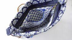 Indigo Block Print Denim Bag Indian Block Print, Handmade Bags, Etsy Handmade, Printed Denim, Denim Bag, Everyday Bag, Casual Bags, Printing On Fabric, Messenger Bag