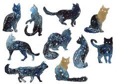 51 Ideas galaxy cat tattoo kitty for 2020 Dog Tattoos, Body Art Tattoos, Black Cat Tattoos, Hp Tattoo, Tattoo Cat, Ankle Tattoos, Arrow Tattoos, Friend Tattoos, Tattoo Small