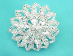 Vintage Style Jewelry - Rhinestone Brooches and Pins