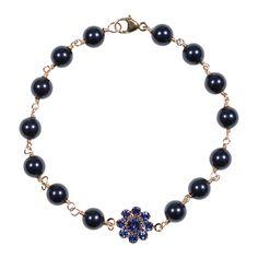 Lily Bracelet in Sapphire #swarovski #armcandy #jewelry #2013