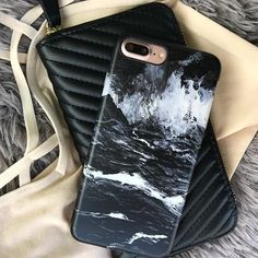 Ready for those Summer nights ☀️ #elementalcases #iphone7 #iphone7plus #black #marble #blackmarble