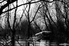 abandoned bus , doirani lake Abandoned, My Photos, Explore, Ruins, Exploring