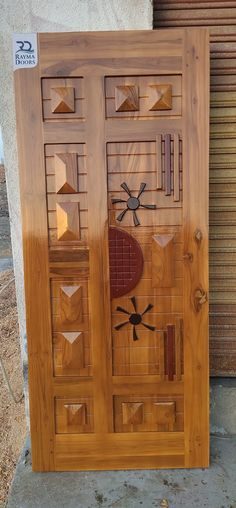 India) MFG All type of teak wood doors Others Products Rayma Doors Door Design Images, Home Door Design, Pooja Room Door Design, Home Stairs Design, Door Gate Design, Door Design Interior, Wooden Front Door Design, Double Door Design, Wooden Front Doors