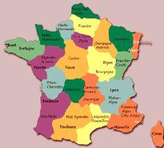 Mapa Politico De Francia 2019.1116 Mejores Imagenes De Francia Y Sus Regiones En 2019