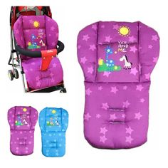 Strollers Accessories Activity & Gear Frugal Kids Cartoon Cotton Car Seat Liner Baby Stroller Seat Cushion Dining Chair Warm Thickness Anti-shock Cushion Pad For Stroller O3 Various Styles