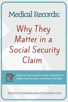 Medical Records are key to winning a disability claim. Learn why you need to do this now to increase your chance at winning your claim