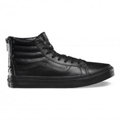 bae9ffd1a984 Sk8-Hi Slim Zip Shoes Leather Vans