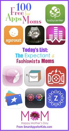 100 FREE Apps for Moms: 2014 Mother's Day edition. http://www.smartappsforkids.com/2014/05/100-free-apps-for-moms.html