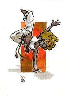 Illustration : Capoeira – 860