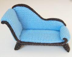 crochet patrones  sillón por amieggs en Etsy