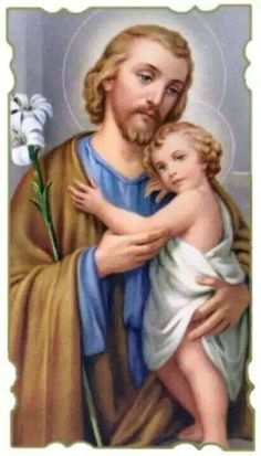 St. Joseph, cuddle us in your arms too!