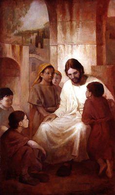 Christ with the Children J. Kirk Richards