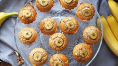 post84-briose-cu-banane Romanian Desserts, 20 Min, Baby Food Recipes, Deserts, Goodies, Gluten, Breakfast, Baby Foods, Muffins