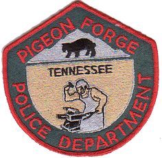 pigeon forge police department patch- Google Search