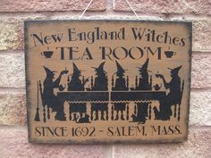 pRiMiTiVe Witches Tea Room Sign | Flickr - Photo Sharing!