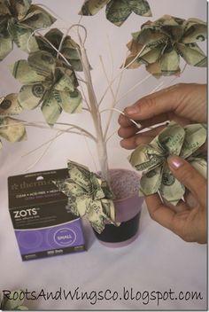teacher appreciation money tree m