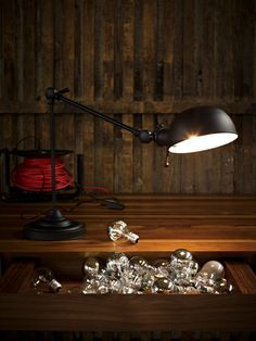 This urban Möbel Pfister ( table lamp is looking for something, can't imagine what it could be. Check it out on my website. Desk Lamp, Table Lamp, Light Bulb, Lamp Light, Furniture Decor, Lighting, Interior, Urban Style, Inspiration