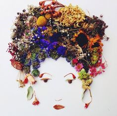Face The Foliage  Portraits via Brit + Co.