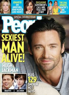 PEOPLE Magazine's Sexiest Man Alive cover 3