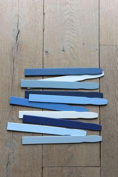 blue interior trend - blue interiors - blue walls - colour trends 2017 - colour 2017 - denim drift - colour of the year 2017 - blue paint trend - dulux denim drift Colour Schemes, Color Trends, Design Trends, Women's Trends, Color Palettes, The Ocean, Dulux Denim Drift, Color Of The Year 2017, Italian Interior Design
